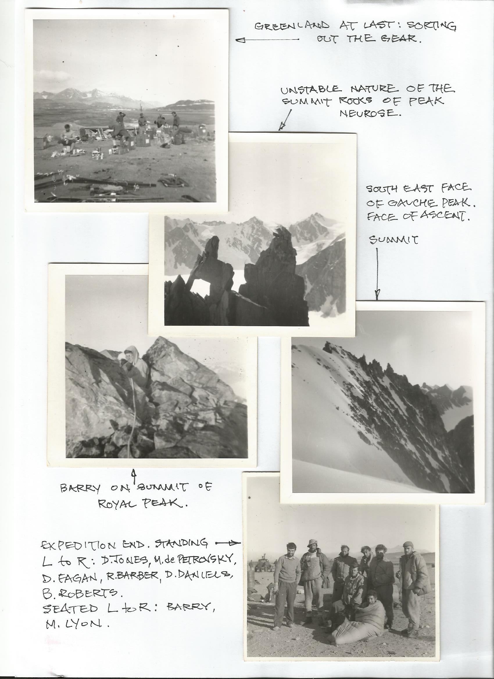 Barry Brewster in Greenland 1961